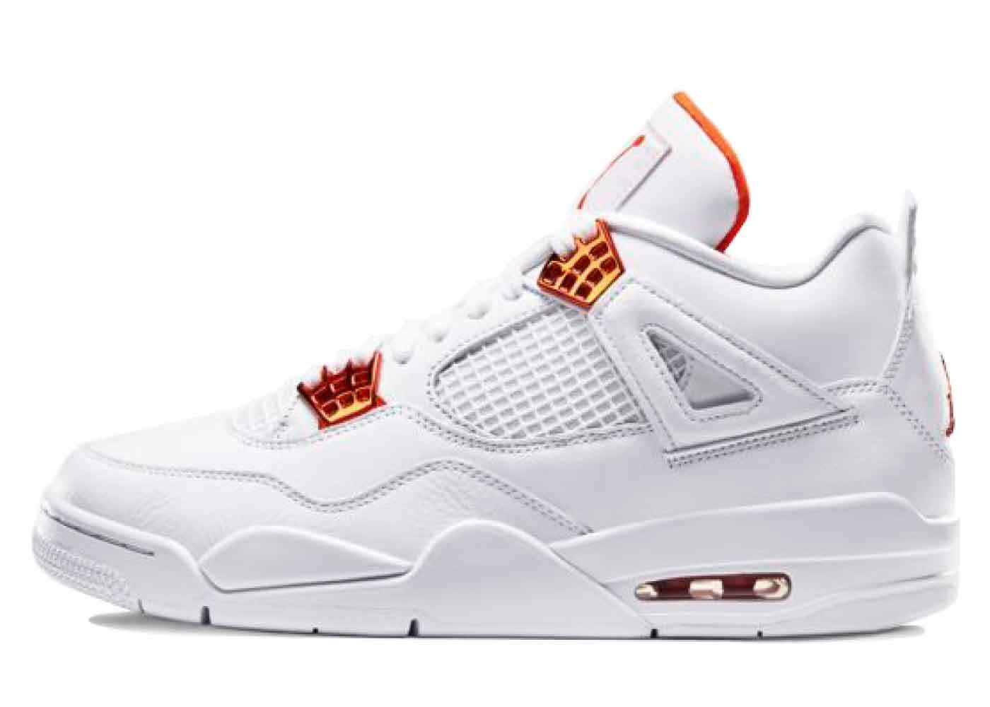 Nike Air Jordan 4 Retro Metallic Orangeの写真