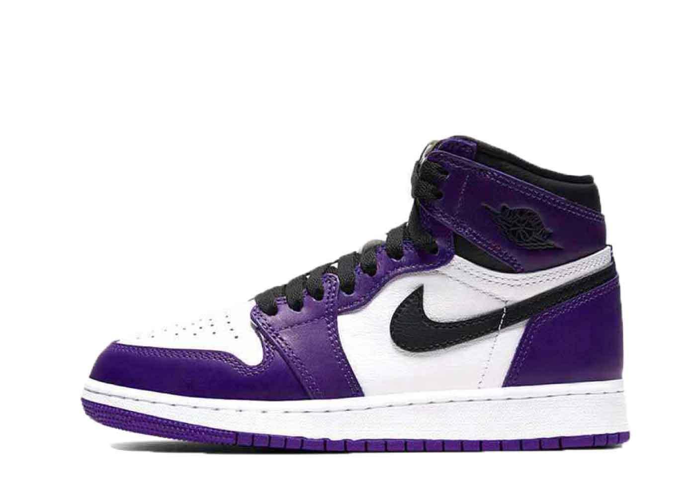 Nike Air Jordan 1 Retro High OG Court Purple(2020)(GS)の写真