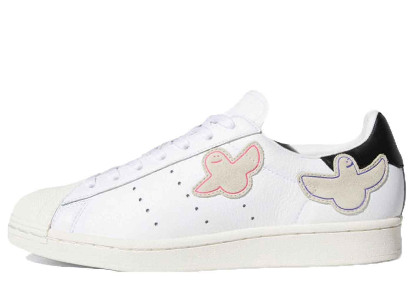 Mark Gonzales × Adidas Skateboarding Superstar Whiteの写真