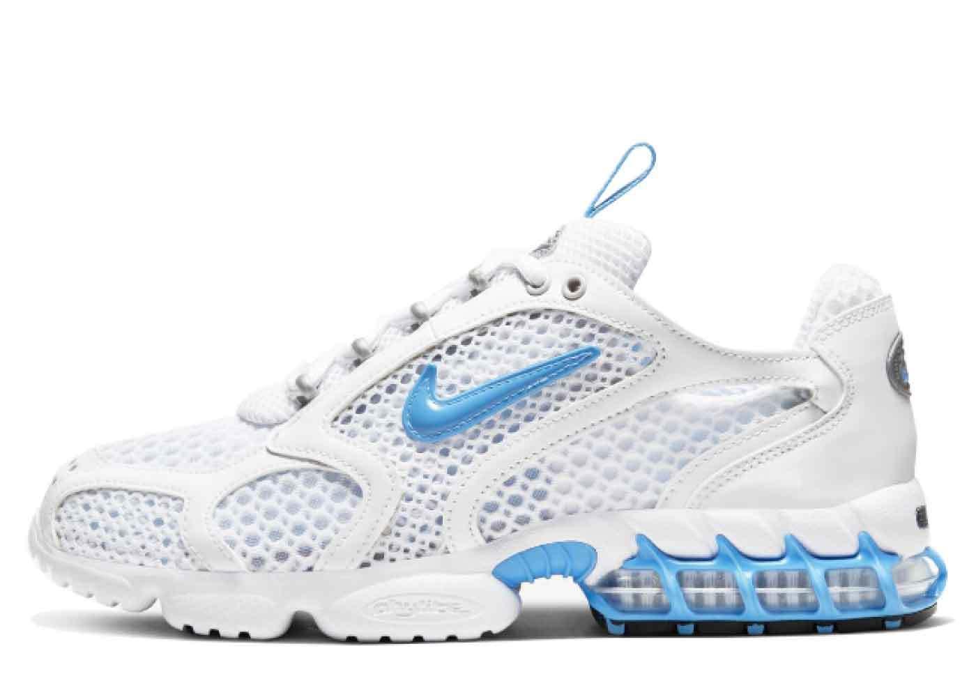 Nike Air Zoom Spiridon Cage 2 Light White Blue Womensの写真