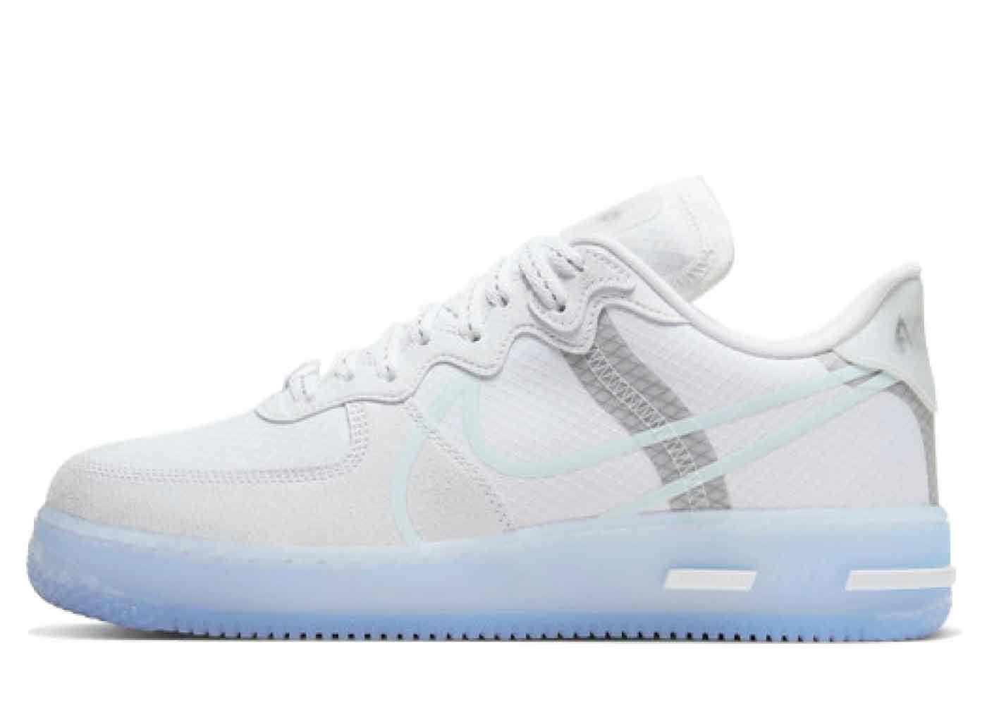 Nike Air Force 1 React QS Whiteの写真