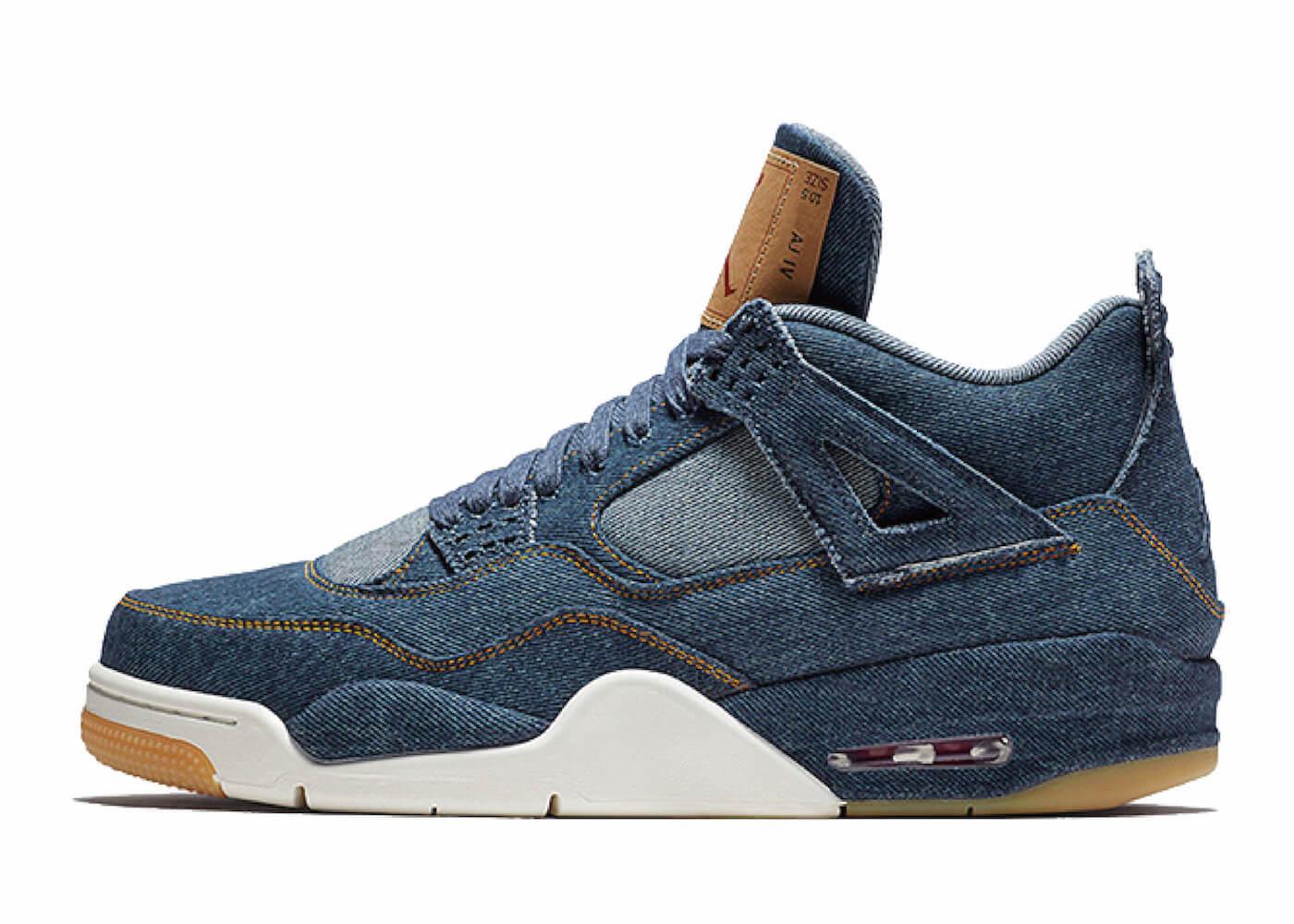 Levi's × Nike Air Jordan 4 Retro Indigoの写真