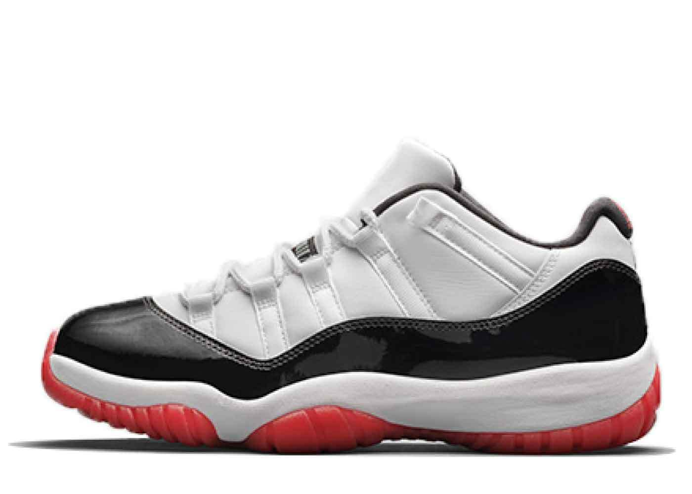 Nike Air Jordan 11 Low White Bredの写真