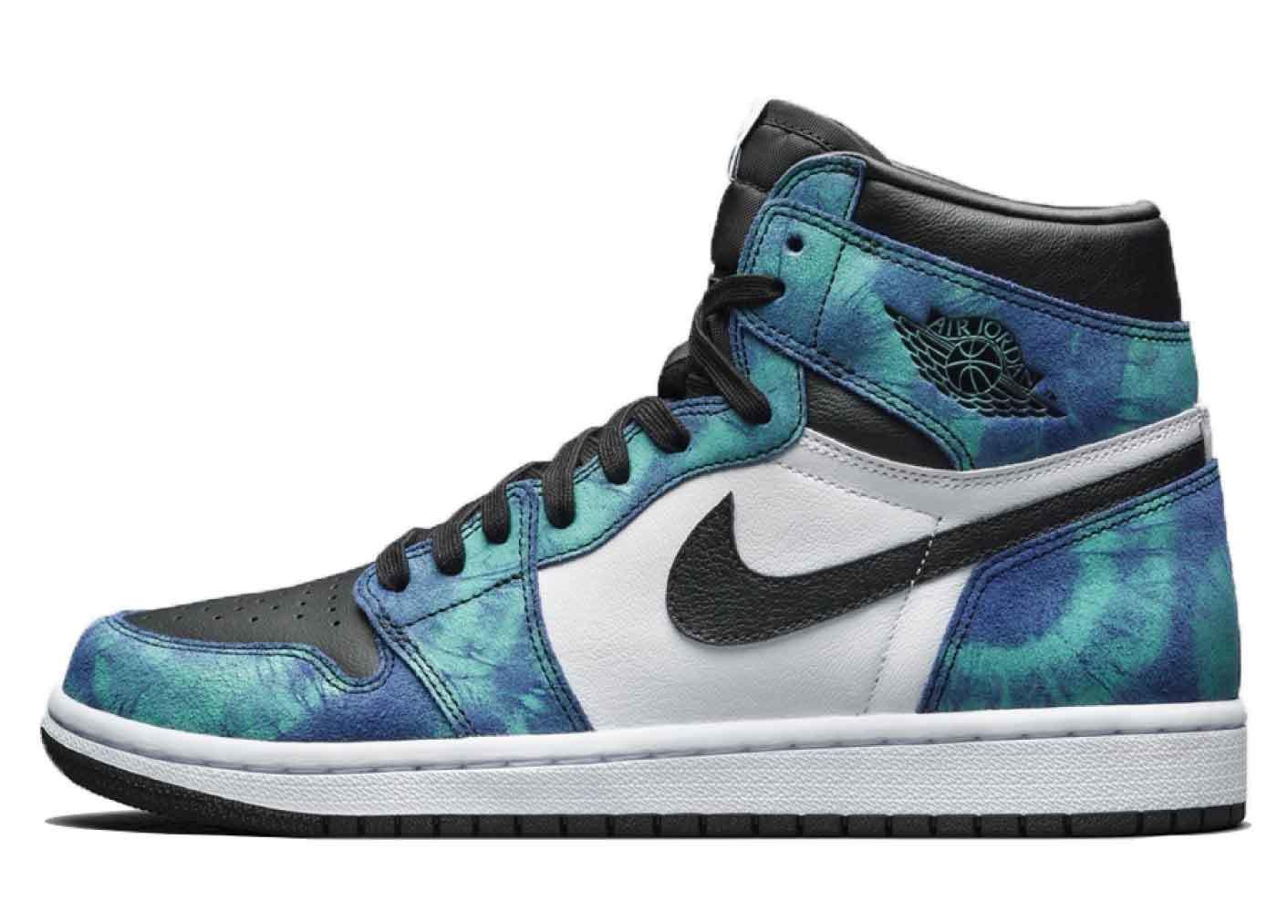 Nike Air Jordan 1 High OG Tie-Dye Womensの写真