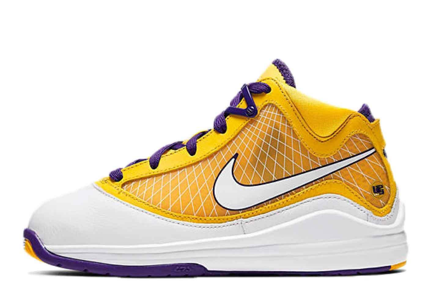Nike LeBron 7 Lakers Media day Little Kidsの写真