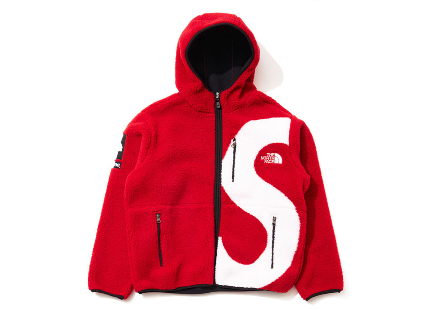 Supreme × The North Face  S Logo Hooded Fleece Jacket Redの写真