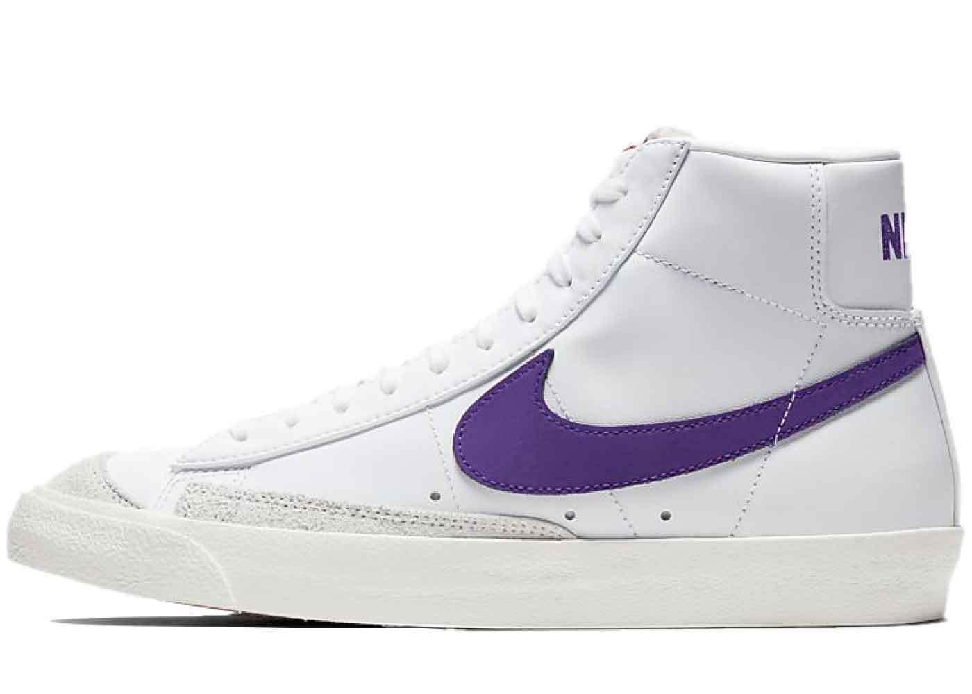 Nike Blazer Mid '77 White Voltage Purpleの写真