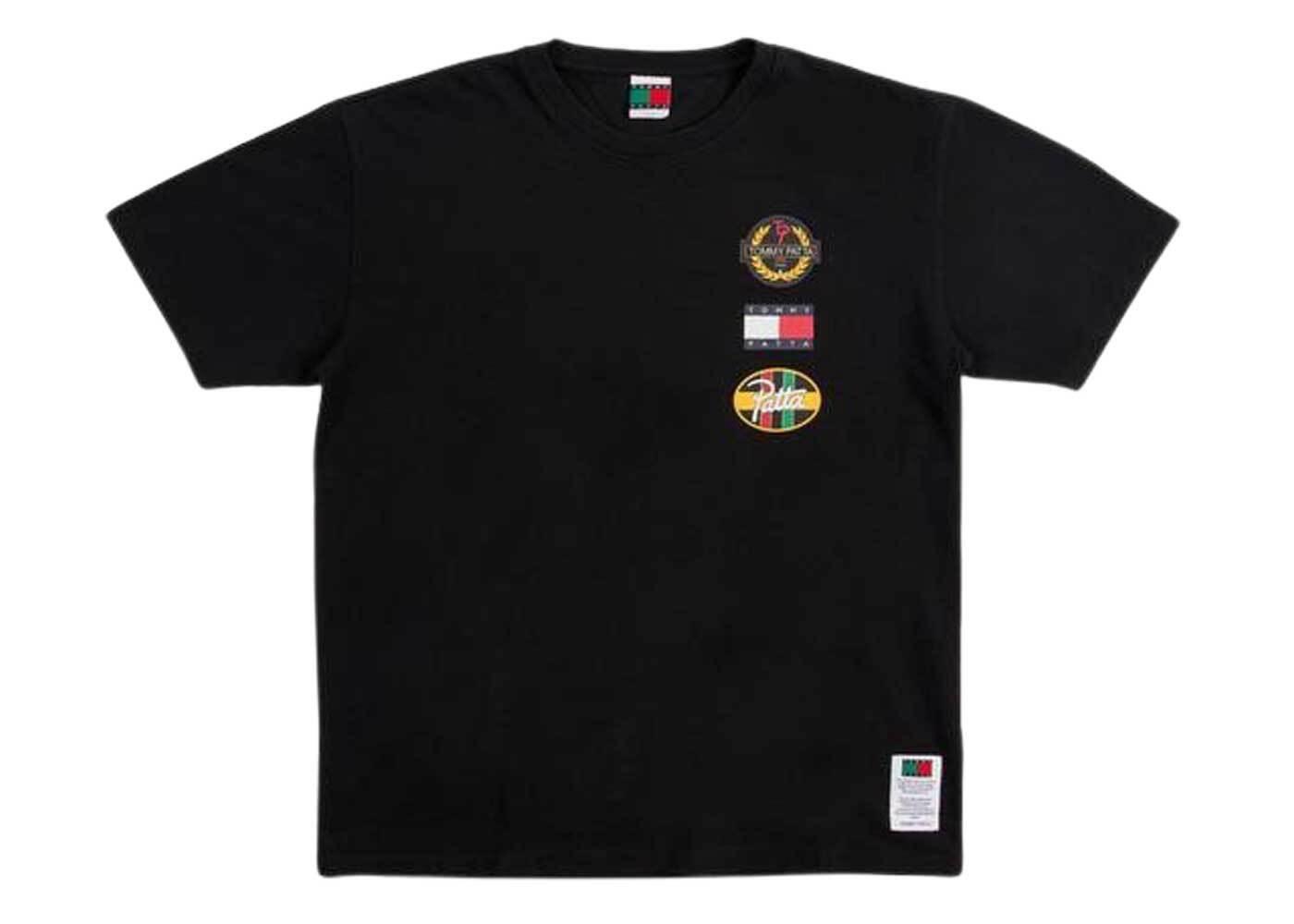 Patta × Tommy Flag T Shirt Black (SS21)の写真
