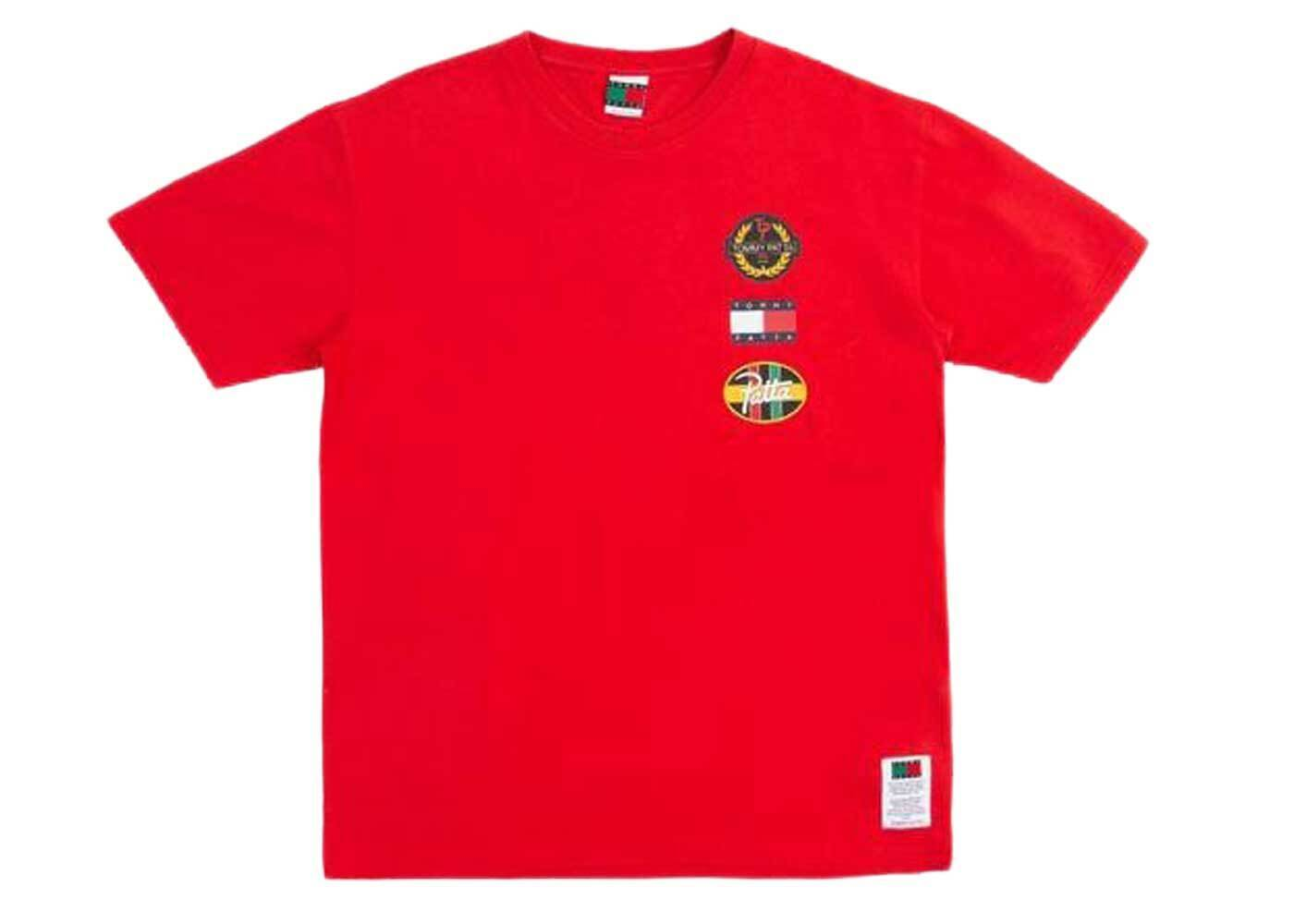 Patta × Tommy Flag T Shirt High Risk Red (SS21)の写真