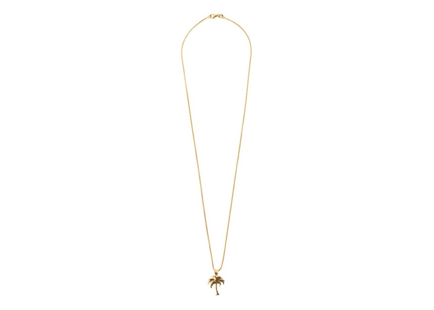 Stussy Pendant Necklace Gold (SS21)の写真