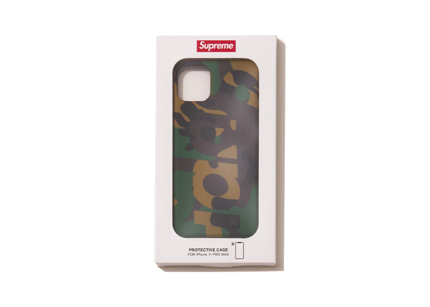 Supreme Camo iPhone Case Woodland Camoの写真
