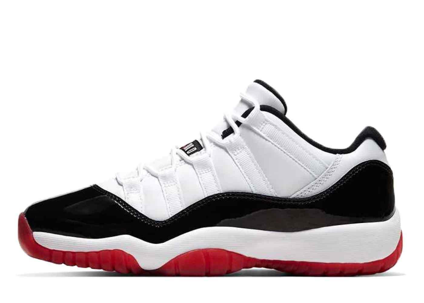 Nike Air Jordan 11 Low White Bred (GS)の写真