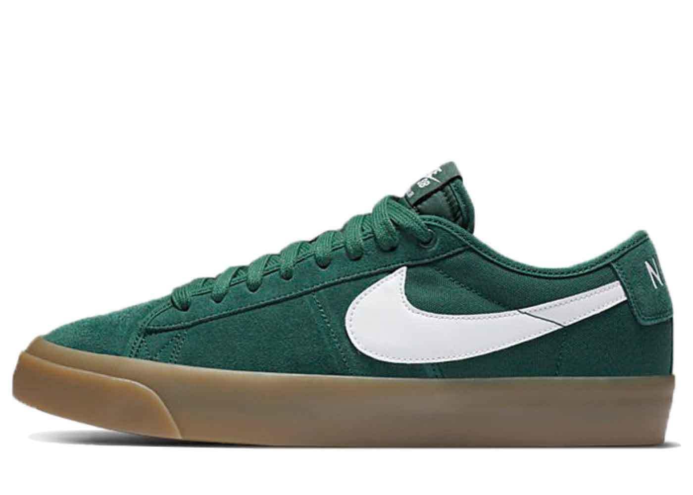 Nike SB Zoom Blazer Low Pro GT Green Gumの写真