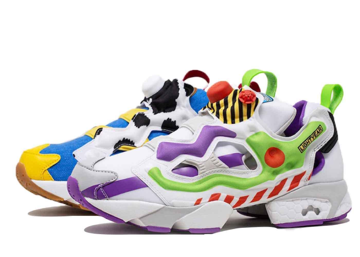 Toy Story 4 × Bait × Reebok Classic Instapump Furyの写真