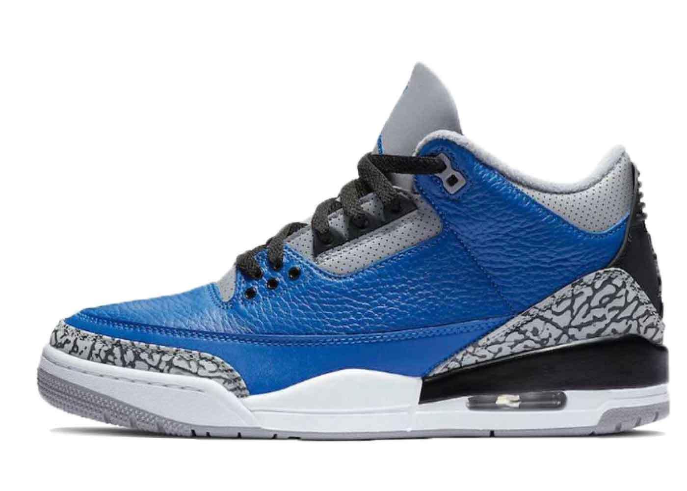 Nike Air Jordan 3 Blue Cementの写真