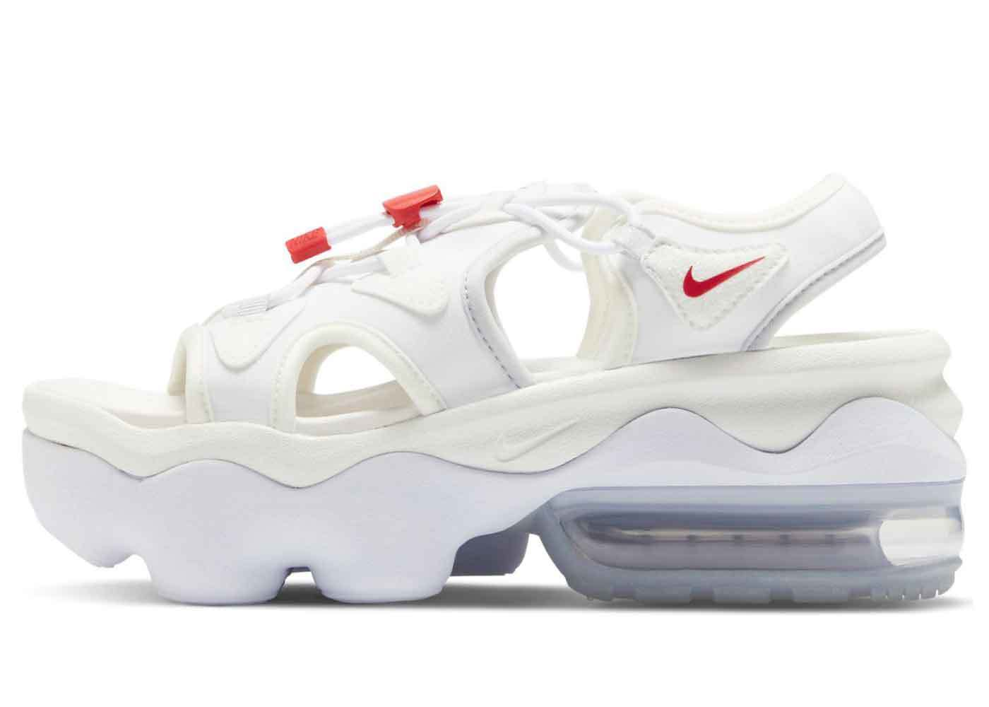 Nike Air Max Koko Sandal White University Red Womensの写真