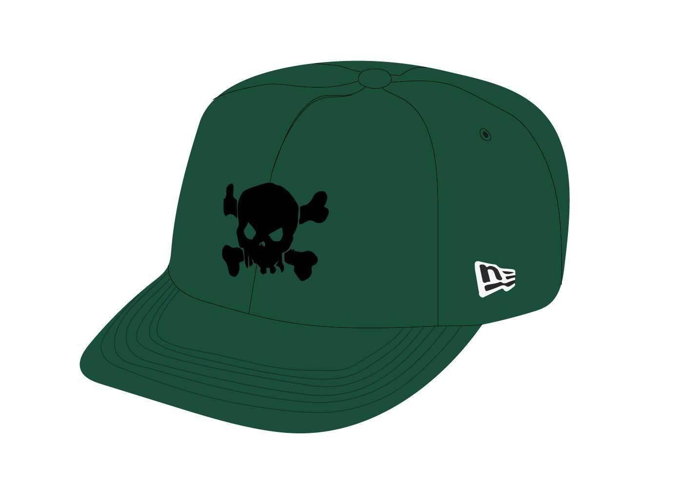 Supreme Skull New Era Green (SS21)の写真