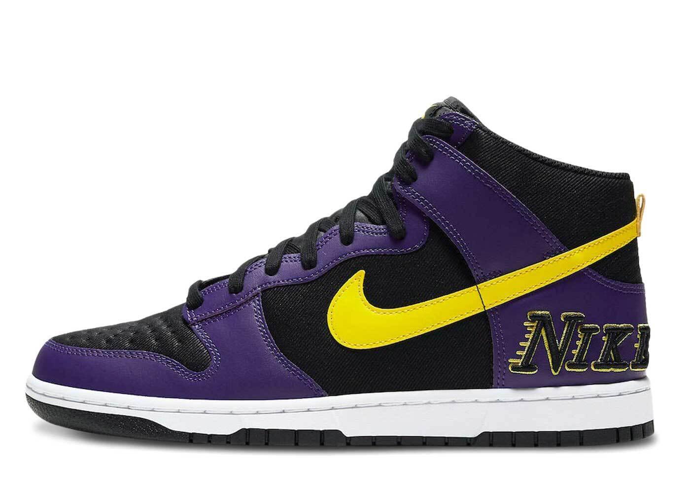 Nike Dunk High EMB Lakersの写真