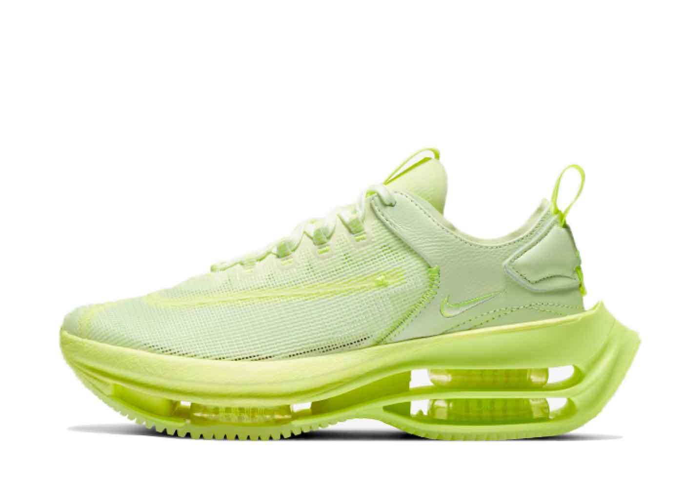 Nike Zoom Double Stacked Barely Volt Womensの写真