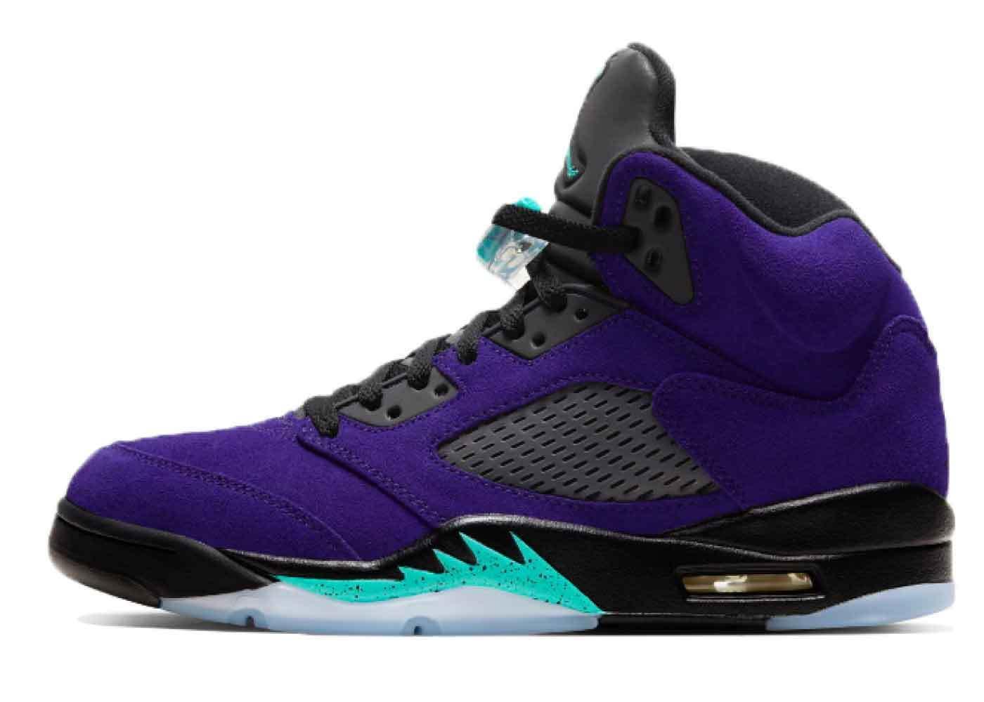 Nike Air Jordan 5 Purple Grapeの写真
