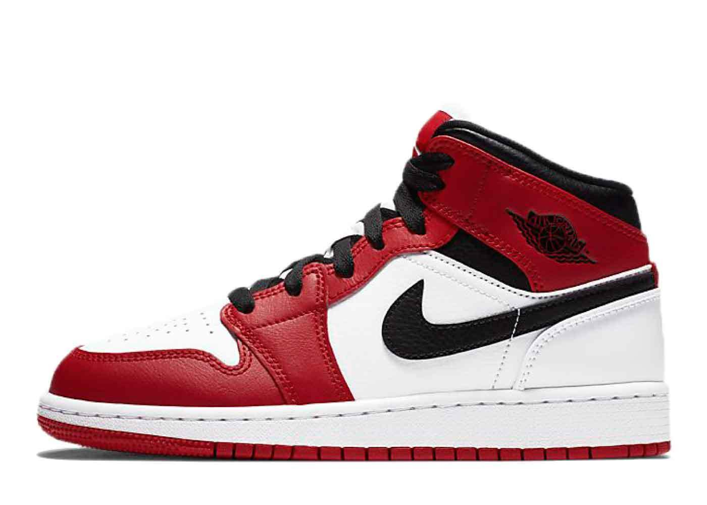 Nike Air Jordan 1 Mid Gym Red GSの写真