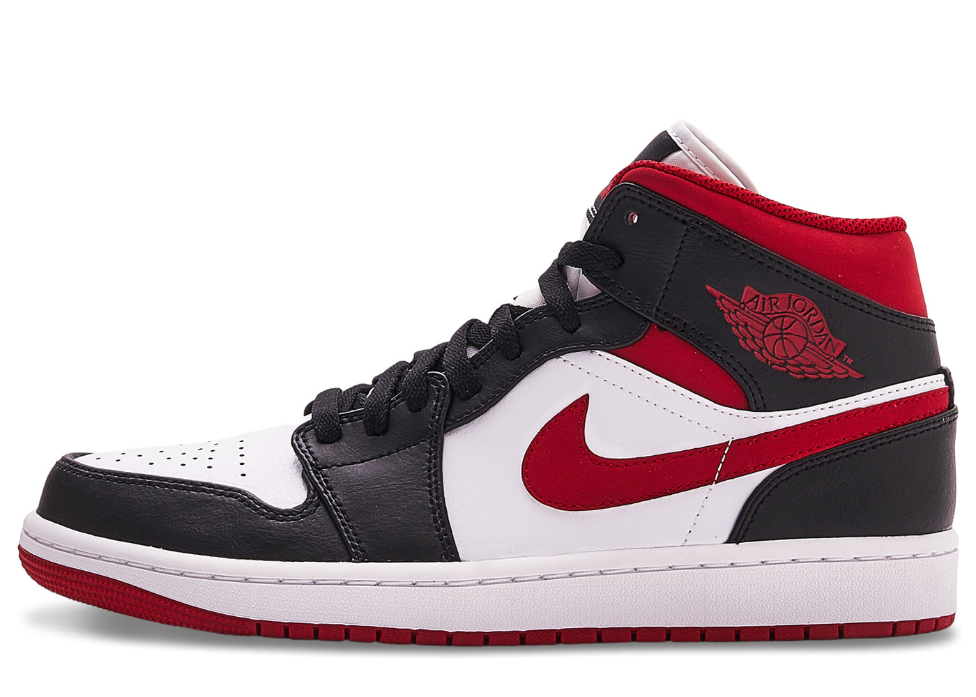 Nike Air Jordan 1 Mid Metallic Redの写真