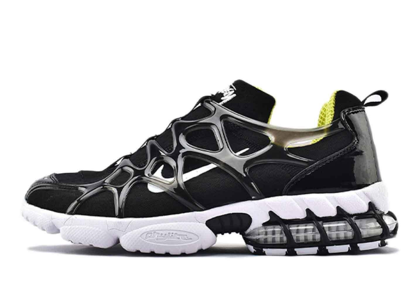 Stussy x Nike Air Zoom Spiridon KK Blackの写真