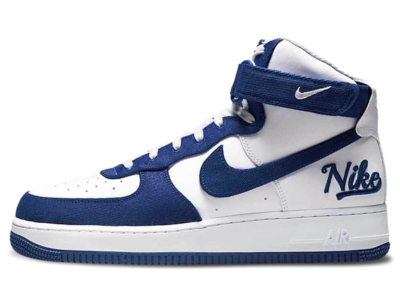 Nike Air Force 1 High EMB Dodgersの写真