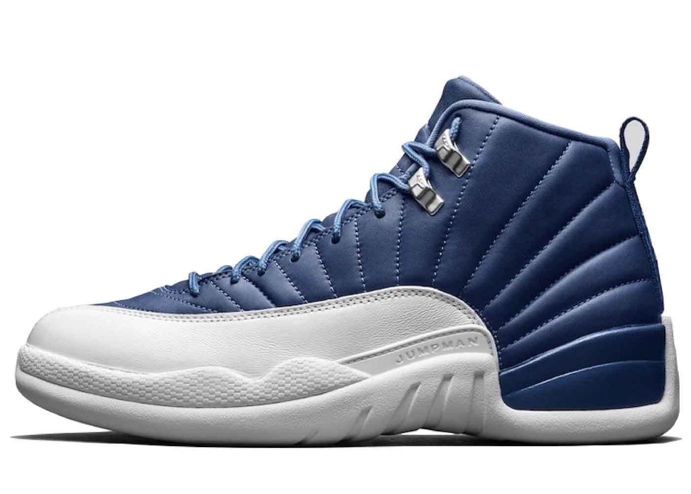 Nike Air Jordan 12 Retro Stone Blueの写真