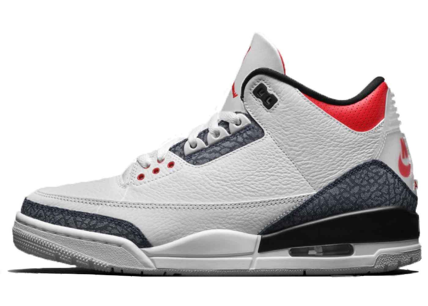 Nike Air Jordan 3 Retro SE Denim Fire Redの写真