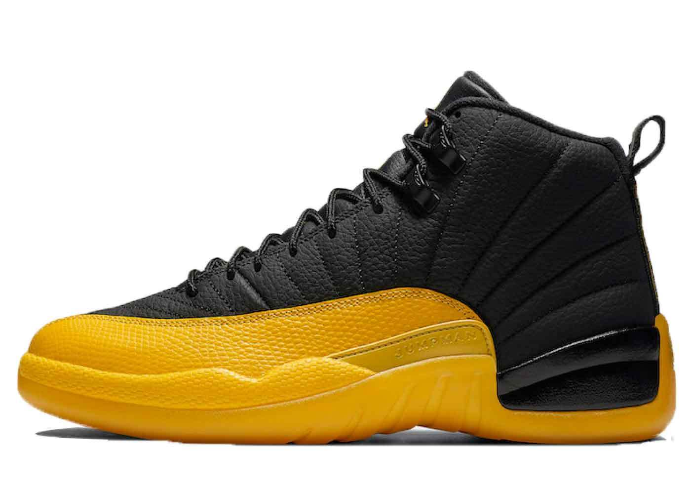 Nike Air Jordan 12 University Goldの写真