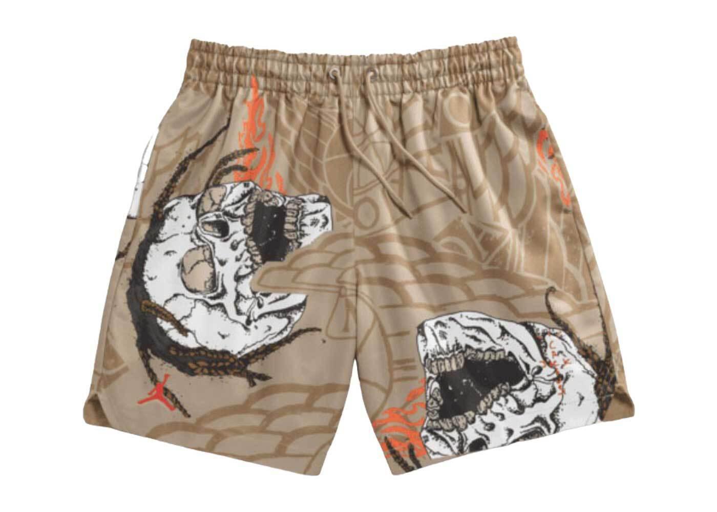 Jordan × Travis Scott Pool Short Pantの写真