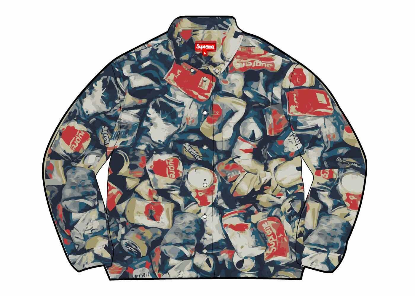 Supreme Cans Shirt Multi (SS21)の写真