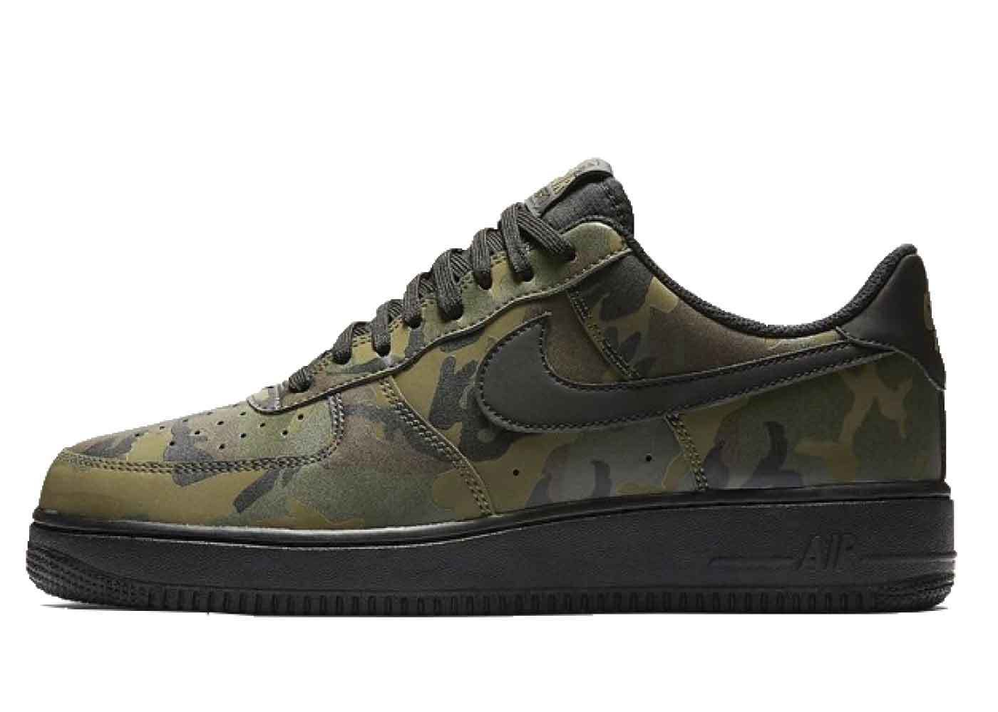 Nike Air Force 1 Low Reflective Camo 相