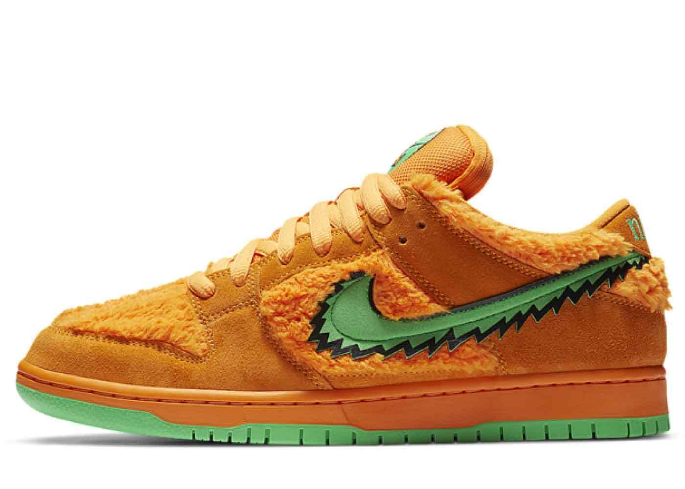 Grateful Dead x Nike SB Dunk Low Orange Bearの写真