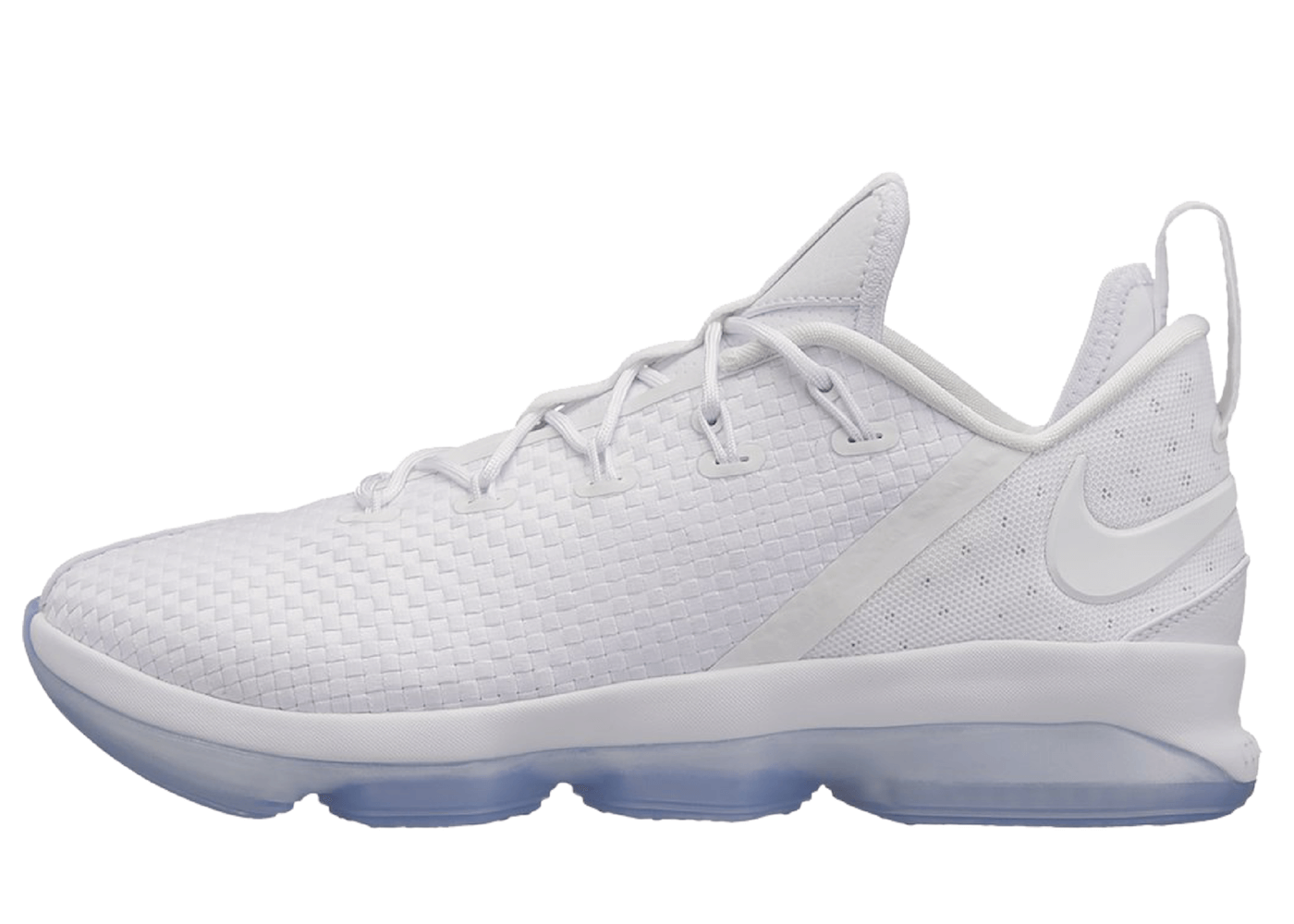 LeBron 14 Low White Iceの写真