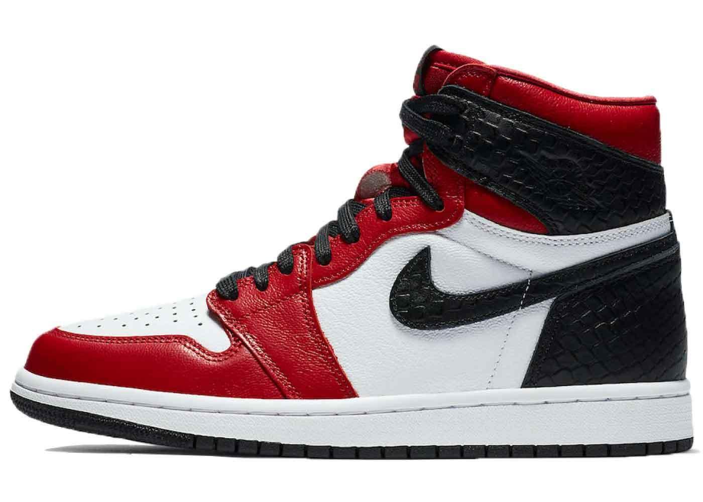 Nike Air Jordan 1 High OG Satin Snake Womensの写真