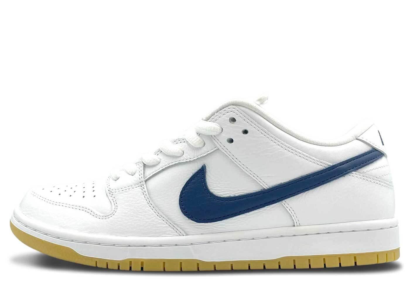 Nike SB Dunk Low Pro ISO White Navyの写真
