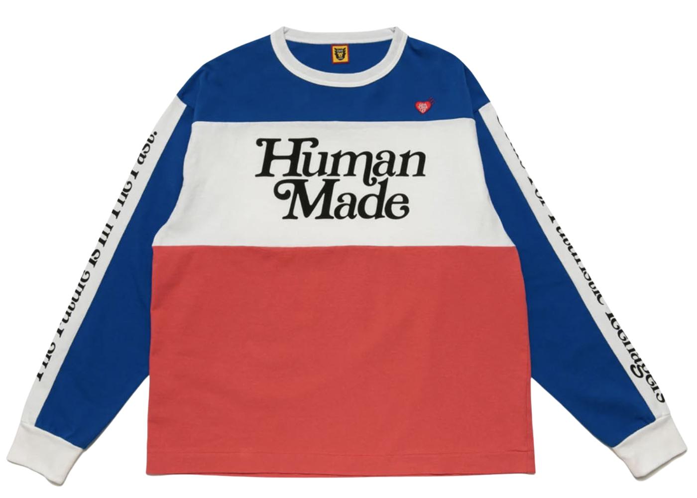 Girls Don't Cry × Human Made Verdy BMX Shirt Blueの写真