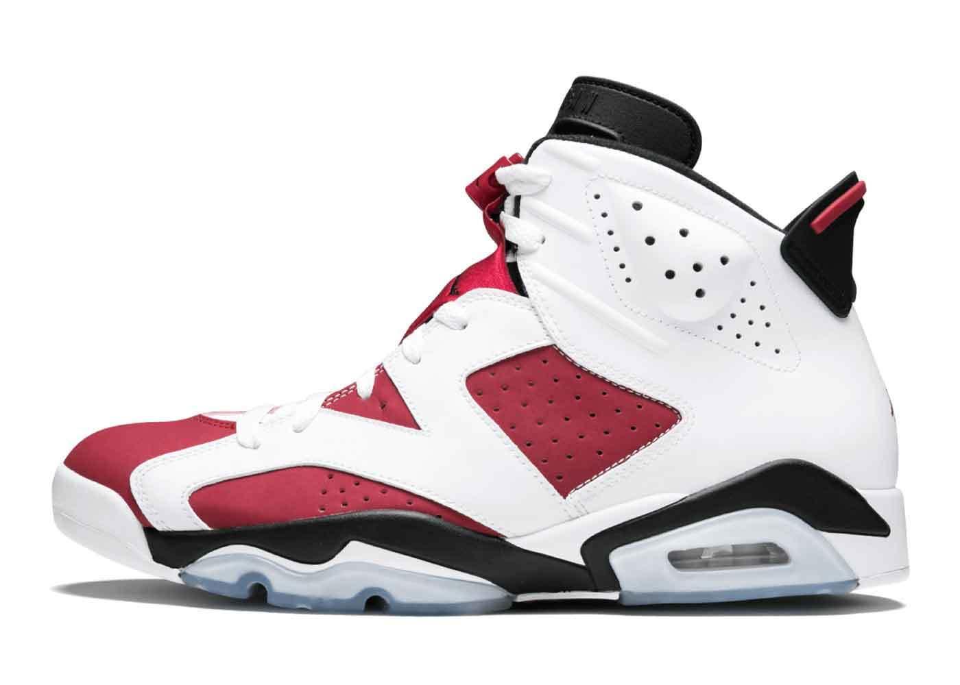 Nike Air Jordan 6 Carmine (2014)の写真