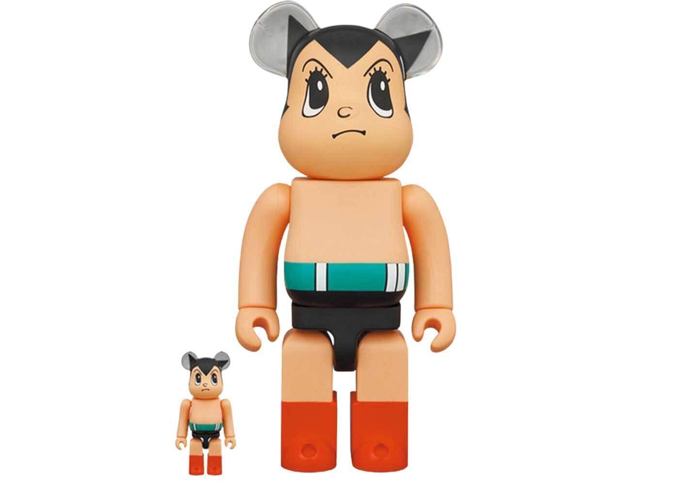 Be@rbrick Astro Boy Brave Ver. 100% & 400%の写真