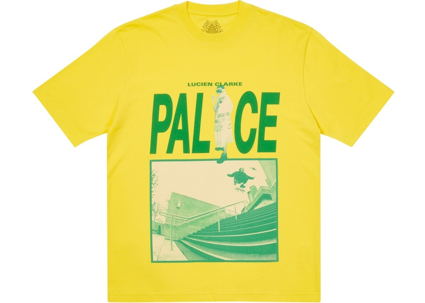 Palace Some Kinda Skate T-Shirt Yellow (SS21)の写真