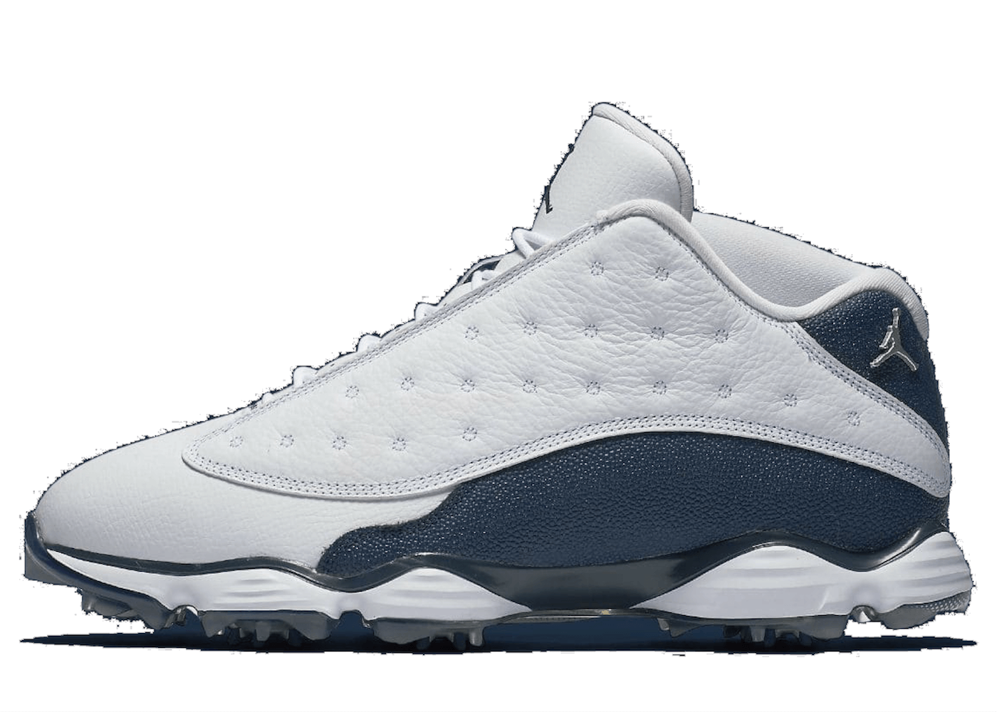 Jordan 13 Retro Golf White Navy Blueの写真
