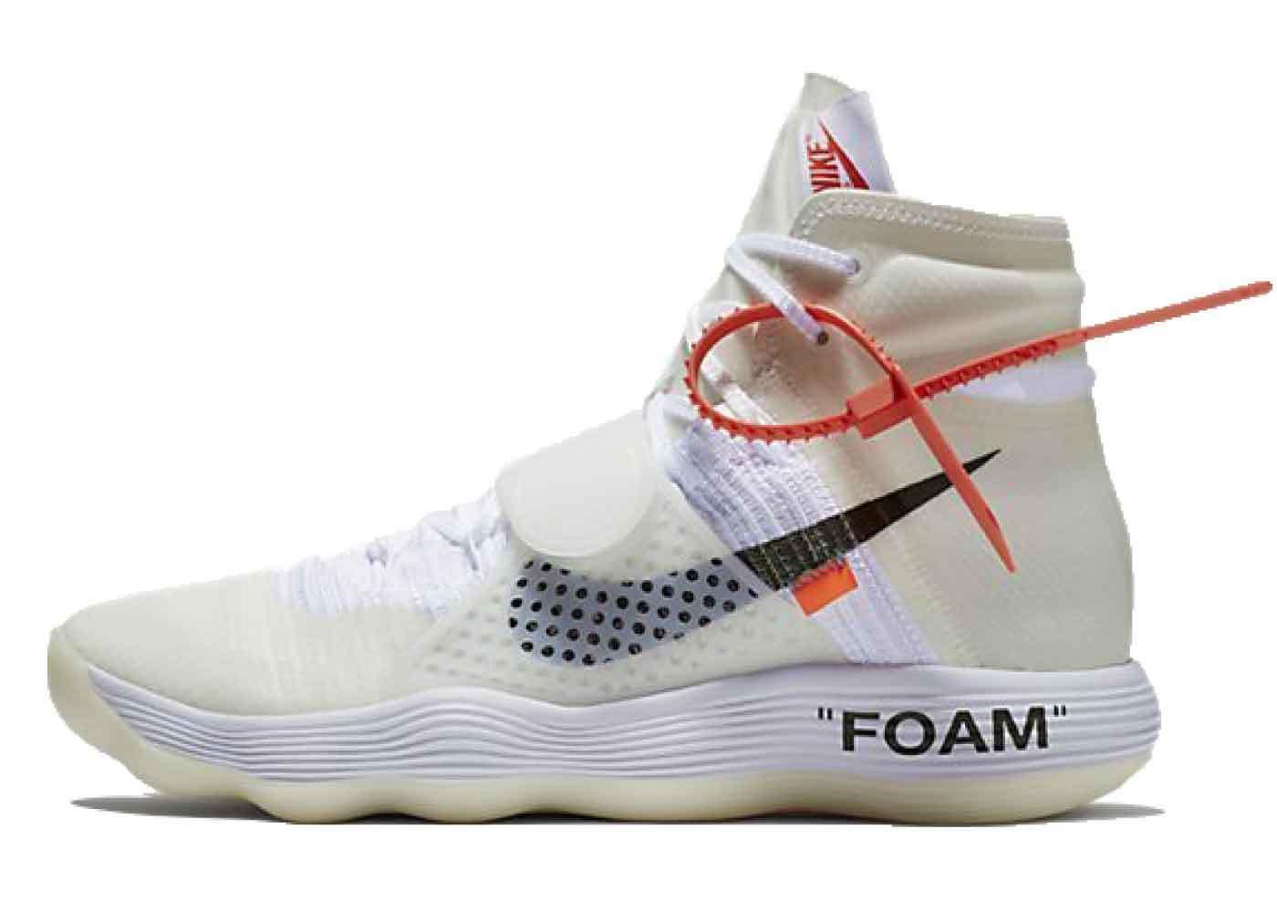 Off-White × Nike The 10 Hyperdunkの写真