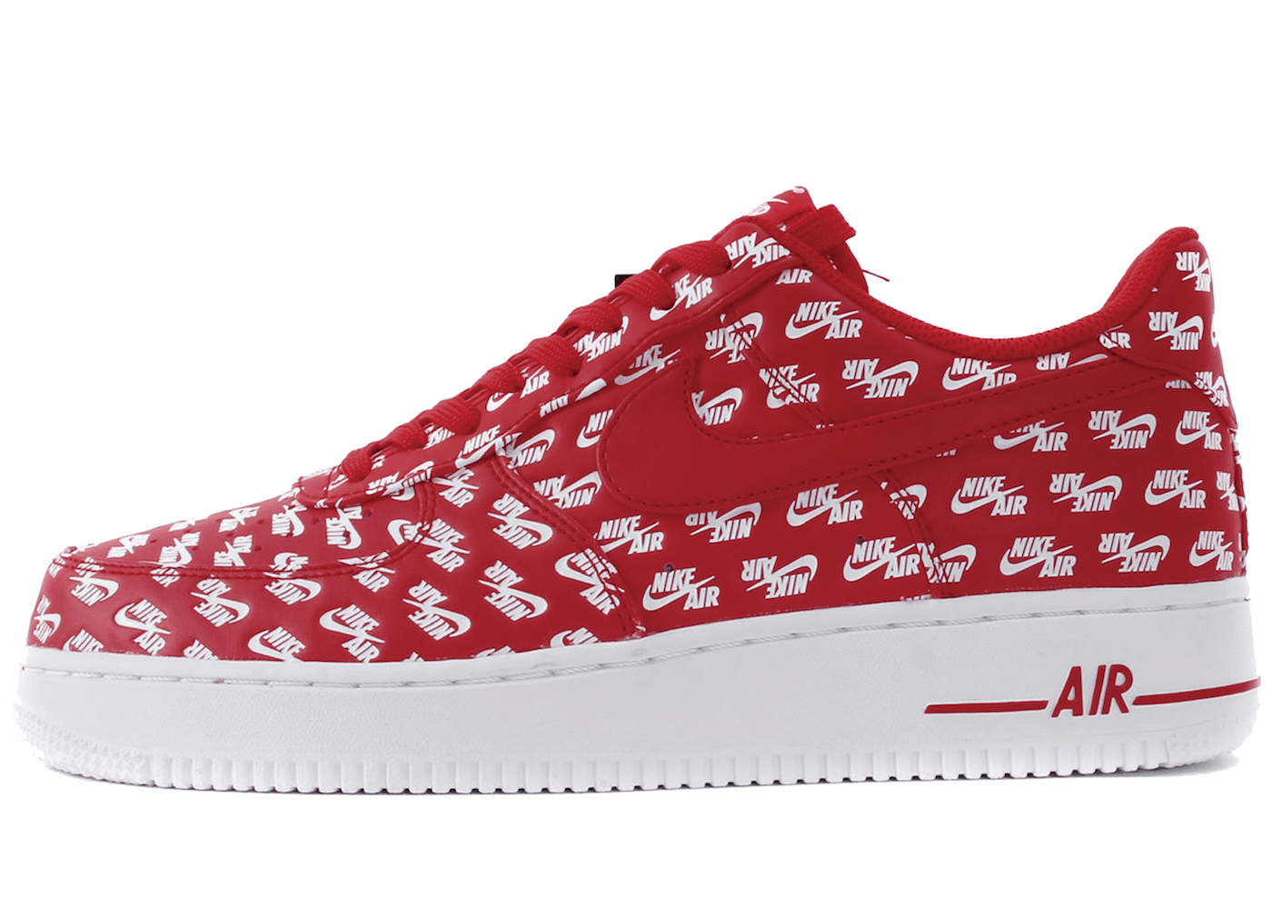 Air Force 1 Low All Over Logo Redの写真
