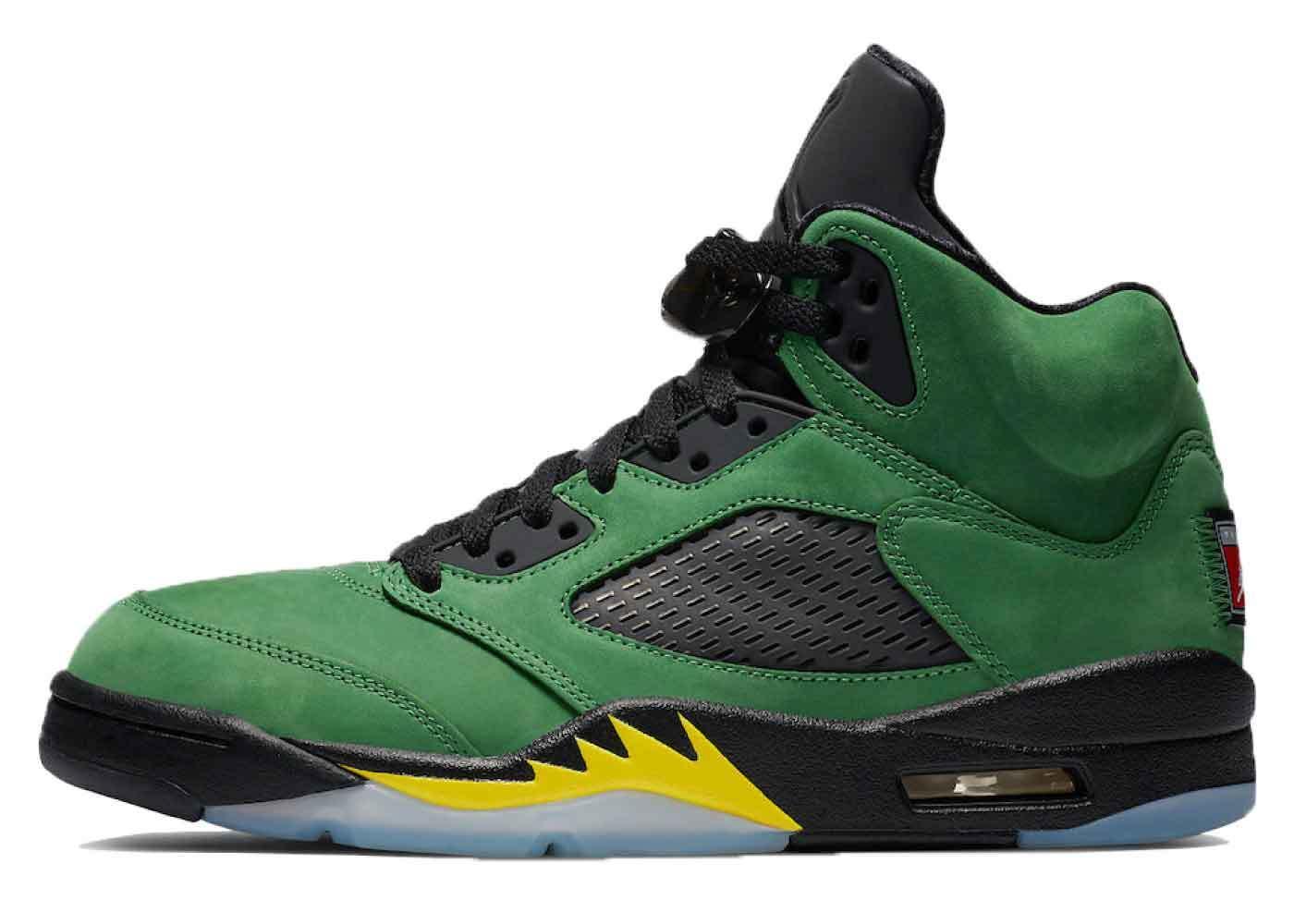 Nike Air Jordan 5 Retro SE Oregonの写真