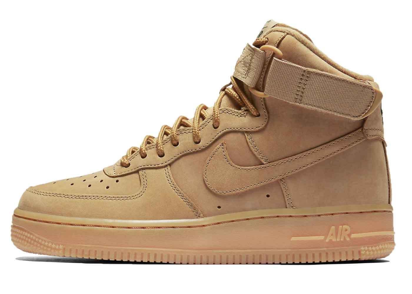 Nike Air Force 1 High Wheat Womens 2016