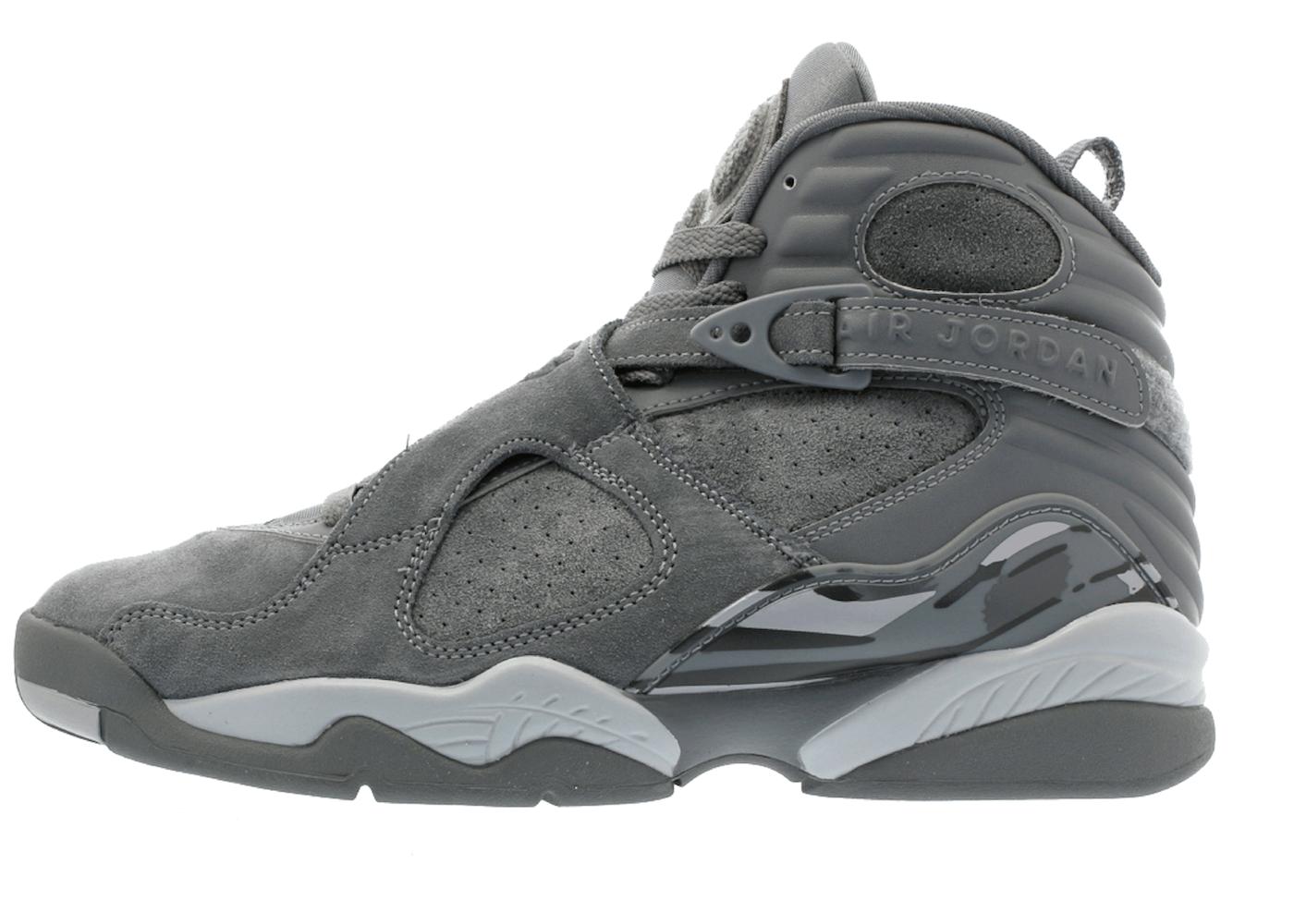 Jordan 8 Retro Cool Greyの写真