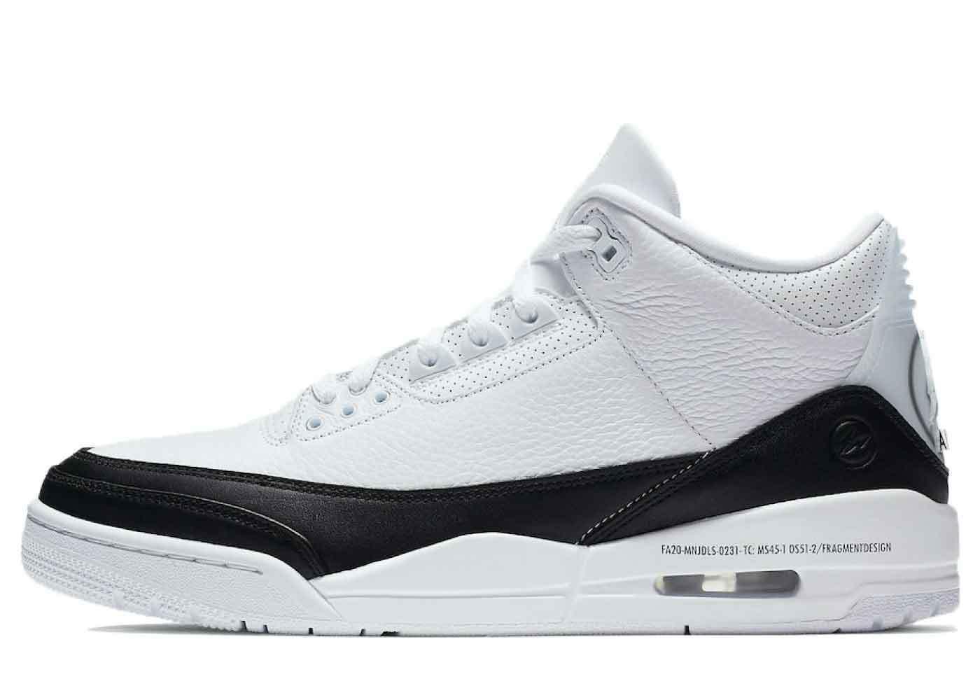 Fragment × Nike Air Jordan 3 SPの写真