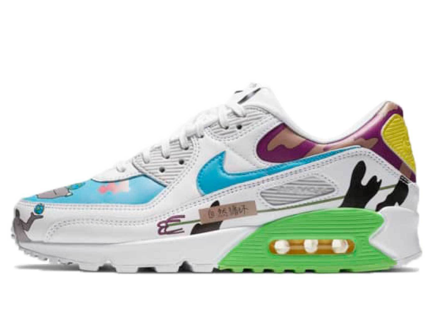 Nike Air Max 90 Flyleather Rouhan Wangの写真